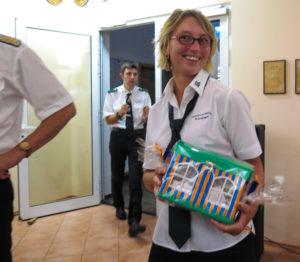 Schützin Britta Ilga gewinnt Gutschein für eine Übernachting für 4 Personen in einer Ferienwohnung im Emsland